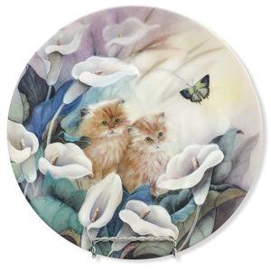 "Lily Chang 1992 ""Alluring Lillies"" Petal Pals"